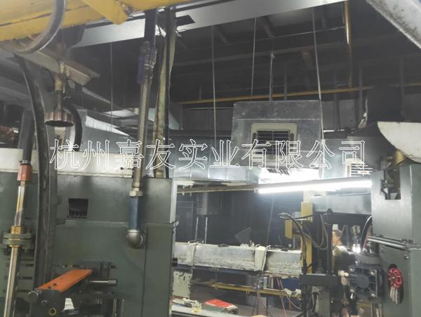 海门瑞欣玻璃制品生产车间安装环奔峭钢В空调降温案例