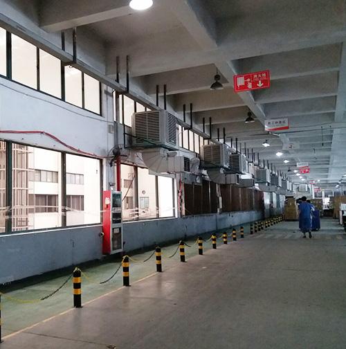 浙江苏泊尔电器集团股份有限公司厂房通风降温工程案例