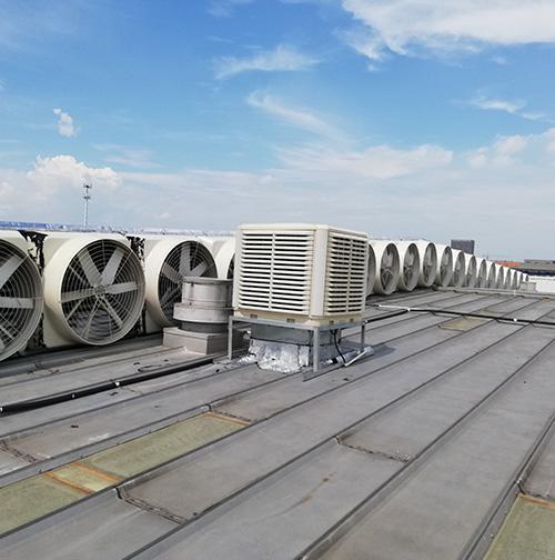 菱日(杭州)环保设备有限公司厂房通风降温解决方案
